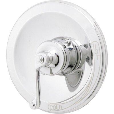 Brescia Dual Function Faucet Shower Faucet Trim Only Finish: Chrome