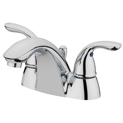 Ferrara Centerset Bathroom Faucet with Double Handles Finish: Chrome