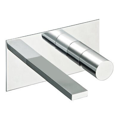 Otella In Wall Bathroom Faucet Finish: Brushed Nickel