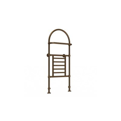 Severn Floor Mount / Wall Mount Hydronic/ Electric Towel Warmer Finish: Oil Rubbed Bronze, Type: Hydronic, Size: Large