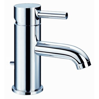 Opera Single Hole Bathroom Faucet with Single Handle Finish: Chrome