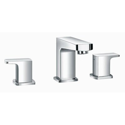 Safire Widespread Bathroom Sink Faucet with Single Lever Handle Finish: Chrome