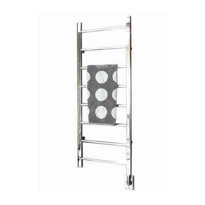 Ryton Towel Warmer Finish: Brushed Nickel, Size: 26 H x 18 W, Type: Hardwired