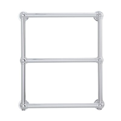 Stour Towel Warmer 27 H x 24 W x 5 D Finish: Brushed Nickel, Type: Plug-In, Size: 27 H x 24 W x 5 D