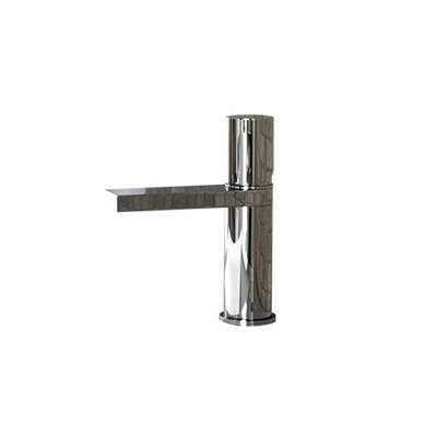 Single Hole Bathroom Faucet with Single Handle Finish: Chrome, Size: 7