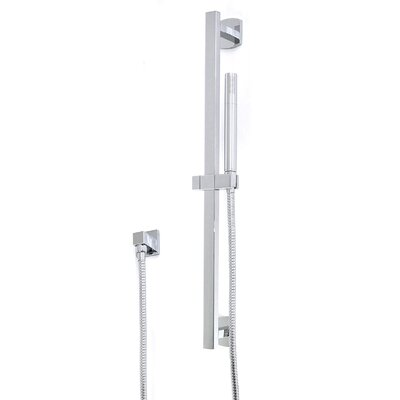 Flexible Hose Shower Kit Finish: Brushed Nickel
