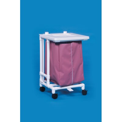 Innovative Products Unlimited Jumbo Hamper with Foot Pedal - Mesh Bag Color: Navy at Sears.com