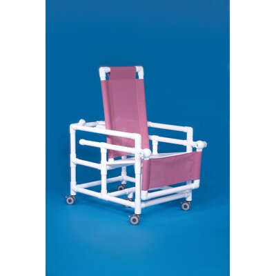 Innovative Products Unlimited Reclining Shower Commode - Mesh Backrest Color: Plum at Sears.com