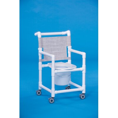 Innovative Products Unlimited Shower Chair Commode - Clearance Height: 20