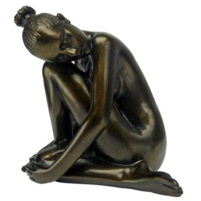 Visions of Leila Nude Female Study Head Turned Figurine PD2573