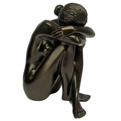 Visions of Leila Nude Nude Female Study Head Hidden Figurine PD2572