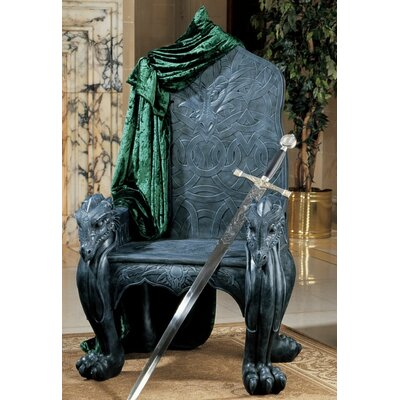 Celtic Dragon Throne Armchair