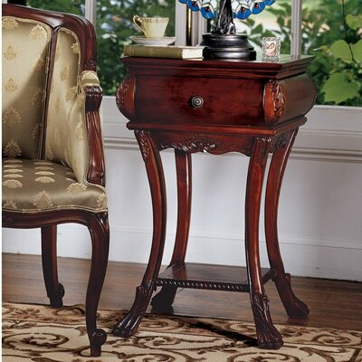 Loire Hourglass End Table