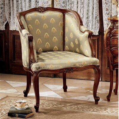 Kingsbury English Tub Fabric Arm Chair