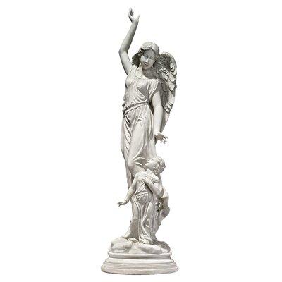 Queen of Angels, Guardian of Children Statue