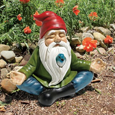 Zen Garden Gnome Statue QM13097