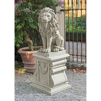 Mansfield Manor Lion Sentinel Statue Quantity: Set of 2 SH94210