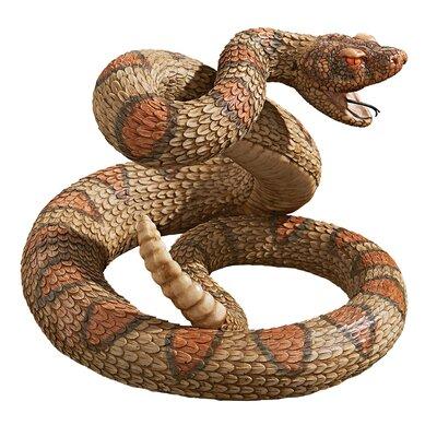 Western Diamond Back Rattlesnake Statue JQ6105