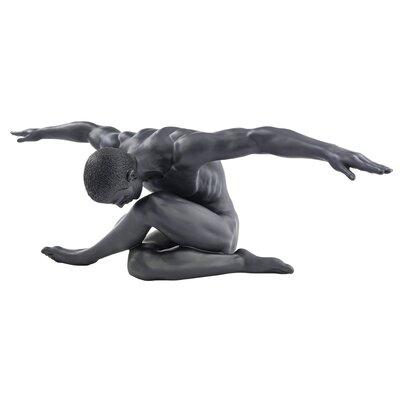 Soft Landing Modern Male Nude Figurine WU75966