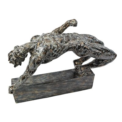 Backtrack Nude Male Figurine NY18104