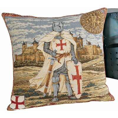 Order of Templier Throw Pillow