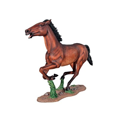 Galloping Quarter Horse Filly Statue NE130054
