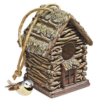 Cottage Backwoods Birdhouse HF330888