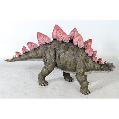 Stegosaurus Scaled Dinosaur Statue NE110039