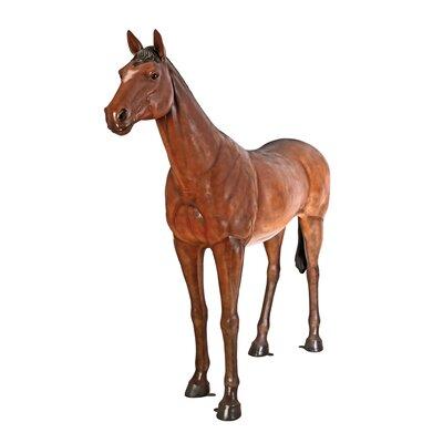 Life-Size Quarter Horse Filly Statue NE100019