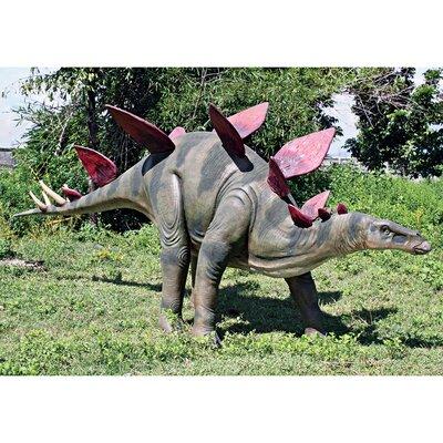 Jurassic-Sized Stegosaurus Dinosaur Statue NE100045