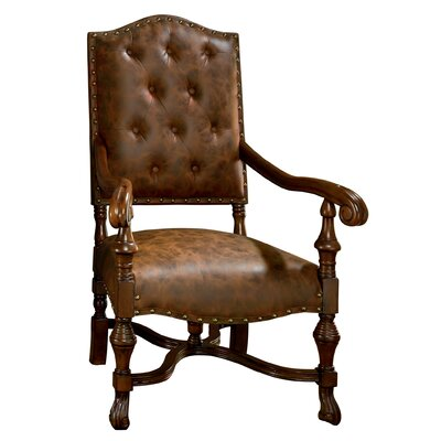 Villandry Spanish Revival Arm Chair