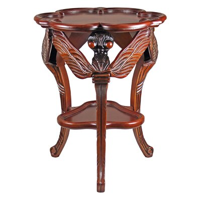 Traditional Dragonfly End Table