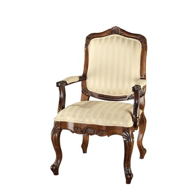 St. Enimie Fauteuil Masters Cotton Armchair Finish: Brown
