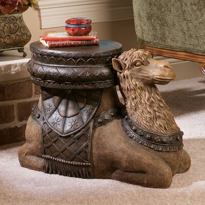 The Kasbah Camel Sculptural End Table