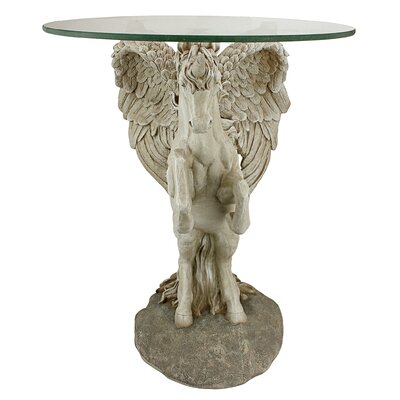 Mystical Winged Unicorn End Table