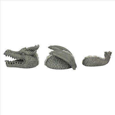 The Moat Monster Dragon Statue EU9362