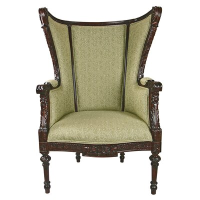Louis XVI Wingback Chair