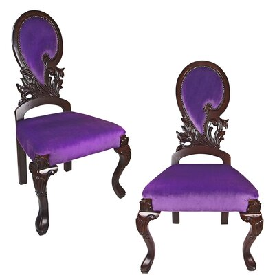 Cheap Couture Regency Ornate Side Chair for sale