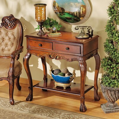 Cheap Design Toscano Broadstreet Console Table (TXG1045)
