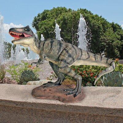 Tyrannosaurus Rex Scaled Dinosaur Statue NE110018