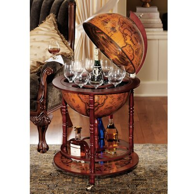 Design Toscano Sixteenth Century Italian Replica Globe Bar | Wayfair