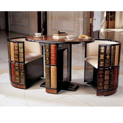 Image of Design Toscano Nettlestone Library Ensemble (TXG1246)