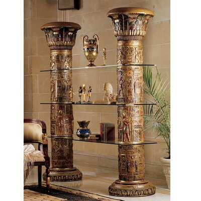 Egyptian Accent Shelves Bookcase 832 Product Photo