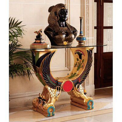 Cheap Design Toscano Egyptian Wings of Horus Grand Altar Console (TXG1106)