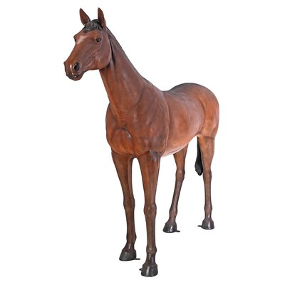 Life-Size Quarter Horse Filly Statue NE100019