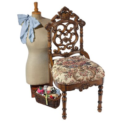 Victorian Sewing Side Chair