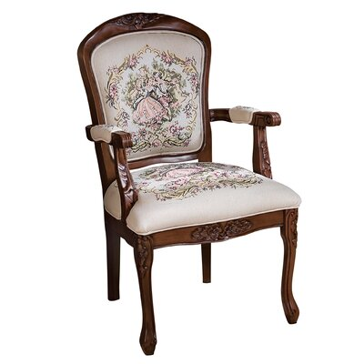La Danse du Printemps Fauteuil Fabric Armchair