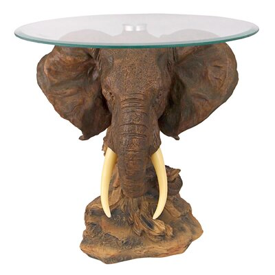 Lord Earl Houghtons Trophy Elephant Coffee Table