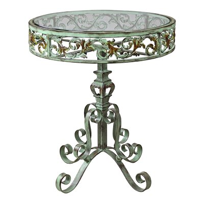 Crystal Palace Conservatory Metal End Table