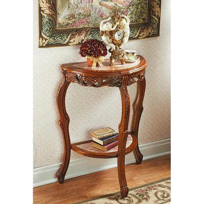 Lady Juliet's Marble Topped Console Table